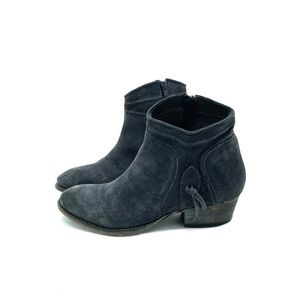 Rebels | Ankle Boots Navy distressed Suede